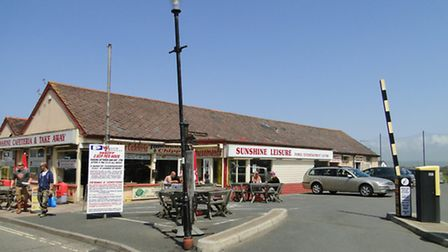 Tesco are hoping to open an Express store in part of the Sunshine Leisure amusement arcades.