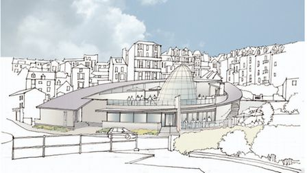 An artist's impression of how Ilfracombe's new Wetherspoon is expected to look.