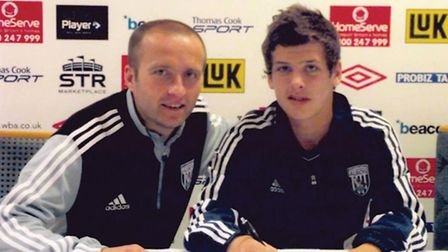 Daniel Barrow signing for West Brom