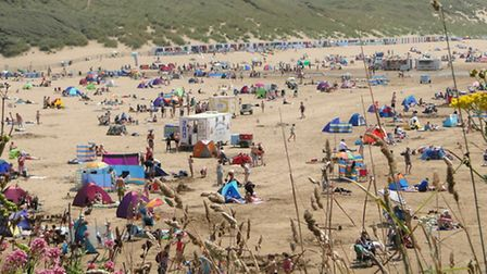 Visitors have packed North Devon's beaches during the heatwave - a tempting target for opportunist t