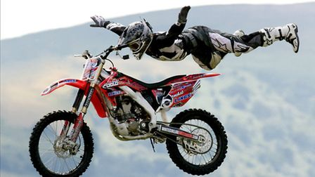 The high-flying Bolddog Lings FX team will be thrilling crowds at this year's North Devon Show.