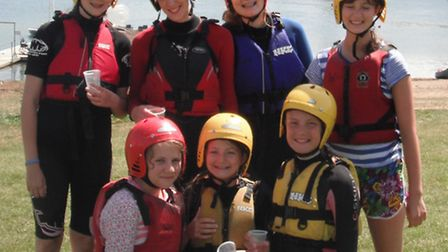 Ilfracombe girl guides all set to hit the water at Wimbleball lake