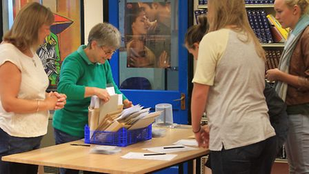 The wait is finally over for Ilfracombe Academy students on A level results day.