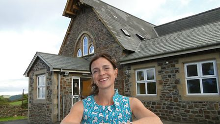 Route 39 Academy principal Joss Glossop outside the newly refurbished former Clovelly Primary School