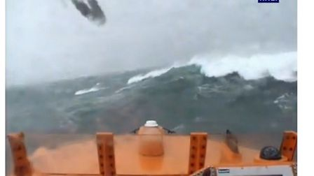 Appledore RNLI volunteers launch to a yacht with engine failure. Credit: RNLI