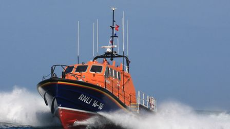 THE Appledore all weather lifeboat Mollie Hunt was at sea for several hours on Saturday night search
