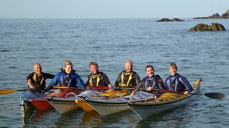 The group will be setting their sights on Lundy for the Chemo Appeal.