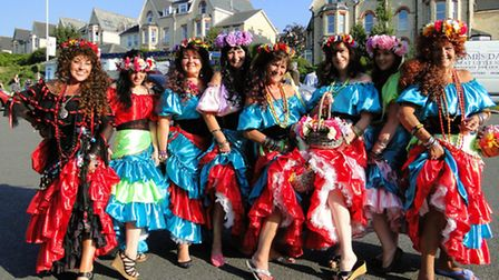 Scenes from Ilfracombe Carnival 2013. To order this picture, click on the Reader Photos button on ou