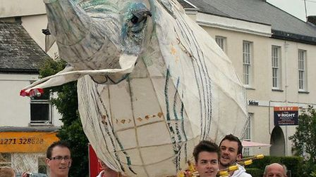 Barnstaple's Elephant Day is coming to town on Saturday.