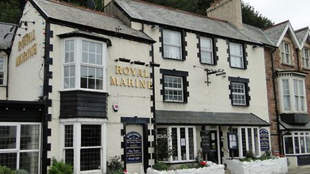 The Royal Marine Hotel in Combe Martin has closed down.