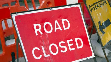 A377 traffic is being diverted via South Molton.