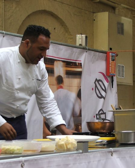 Celebrity chef Michael Caines will be talking about what inspires him to cook.