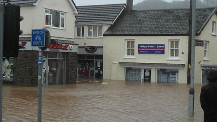 The flooding in Braunton in December last year left affected as many as 200 homes and businesses.