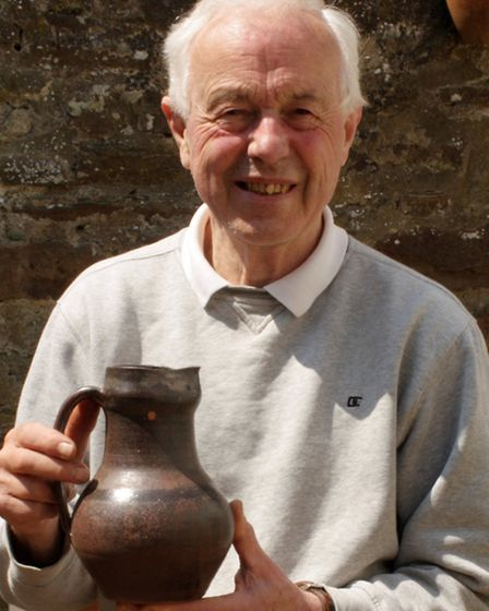 Well known local potter Harry Juniper and his son Nick will be taking part in the festival.