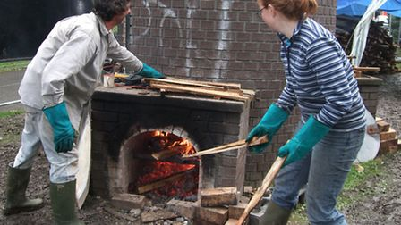 Wood firing the Victoria Park bottle kiln will take place on Friday, September 20 as part of the Nor