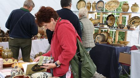 There should be plenty of festival craft stalls to catch the attention of ceramic fans.
