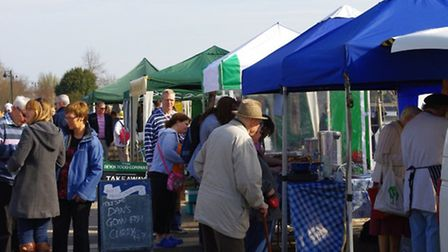 Bideford Farmers' Market - held on the Quay during the summer months - is moving to Jubilee Square t
