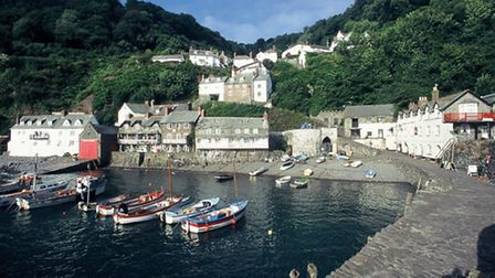 Clovelly will be the setting of the new Young's Seafood advert.