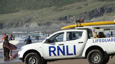 It has been a busy summer for the RNLI lifeguards on North Devon beaches, as well as their counterpa