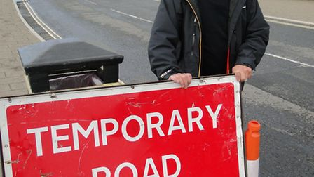 Councillor Rodney Cann says it is ridiculous Instow has waited six months for road resurfacing.