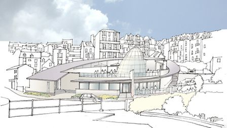 A graphic conception of how the new Ilfracombe Wetherspoon pub will appear.