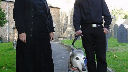 The Reverend Anne Thorne and Reverend Ben Bradshaw - together with Ben's dog Maisie - hope to welcom