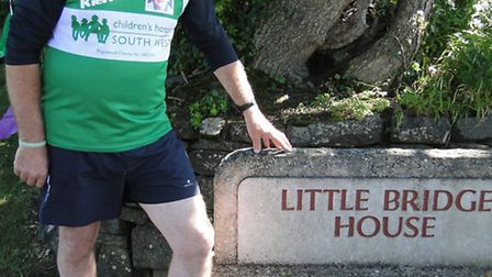Richard Dean, pictured at Little Bridge House, is taking on the Great West and Great Midlands runs t