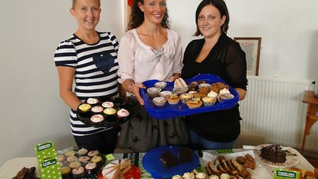 Chivenor Families Community Project hosted a Macmilland coffee morning at the base chapel. Pictured
