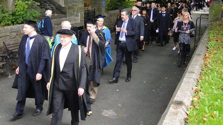 Scenes from the Petroc foundation degree graduation day in Barnstaple on Saturday. Order this pictur