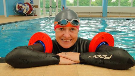 Anne Tattersall is gearing up for her big swim this month.