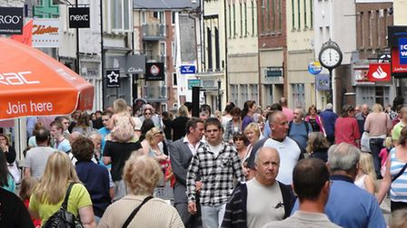 North Devon Council is looking at ways to increase the footfall in Barnstaple town centre.