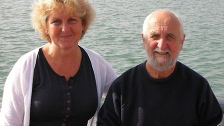 Jeff and Pip Barwick-Parkinson, from Dorchester were given a free crossing to celebrate the landmark