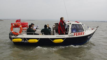 The Appledore to Instow ferry has carried its 40,000th passenger since current operations began agai