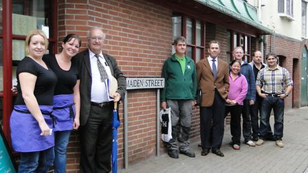 Several of the restaurant and cafe owners on Maiden Street are putting pressure on the council to he
