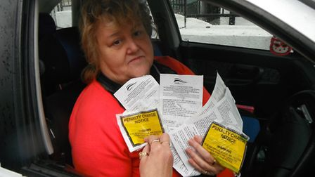 Ilfracombe grandmother Christine Lee has received 26 parking tickets in two years.