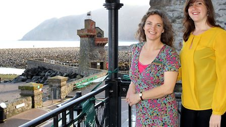 Louise Reynolds and Jess Twydall from the Heritage Lottery Funded Lynmouth Pavilion Project are invi