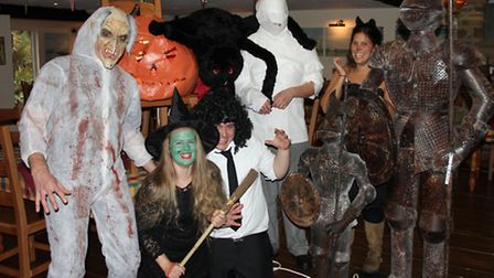 Merry Harriers staff are preparing for a fun-filled Halloween Charity Party this Saturday and hope t
