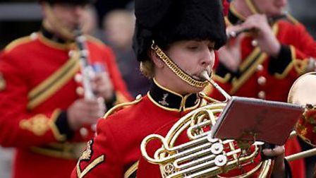The Band of the Royal Signals will be playing at the North Devon Festival of Remembrance on Sunday,