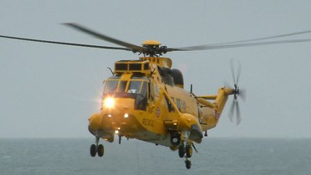 When the Seakings are phased out in 2015, there is a slim hope one of the new faster helicopters cou