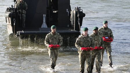 The launch of the Devon Poppy Appeal today (Fri).