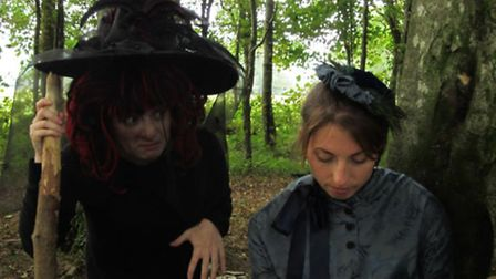 Spooky goings on at Arlington Court this Halloween.