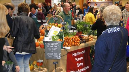 Thousands of people attended this year's North Devon Foodfest in Barnstaple Pannier Market.