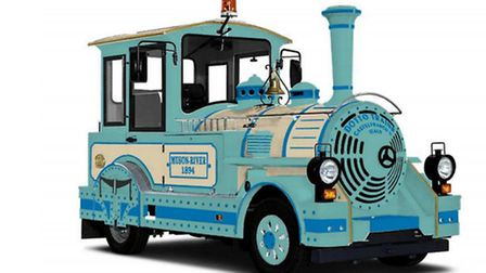 A Dotto train similar to this one is being delievered to Ilfracombe next month - and North Devon Cou