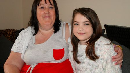 Brave Barnstaple teenager Katie Gammon, 15, and mum Angie Hart are urging people to join them on an