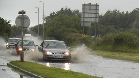 Devon County Council says there is still a £5.5million flood damage backlog on the region's roads.