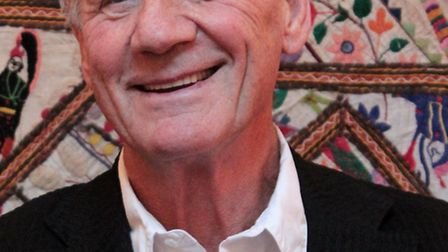 Michael Palin was one of the headliners of Appledore Book Festival 2013. Picture: Sarah Gallifent.