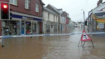 Braunton was one of the communities hit badly by last year's floods.