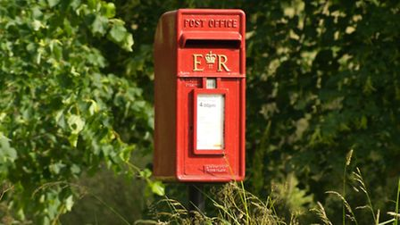 Four small post boxes similar to this one have been smashed open and emptied in the Combe Martin are