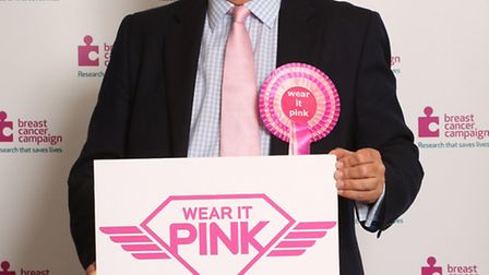 MP Nick Harvey has championed the 'Wear it Pink' campaign