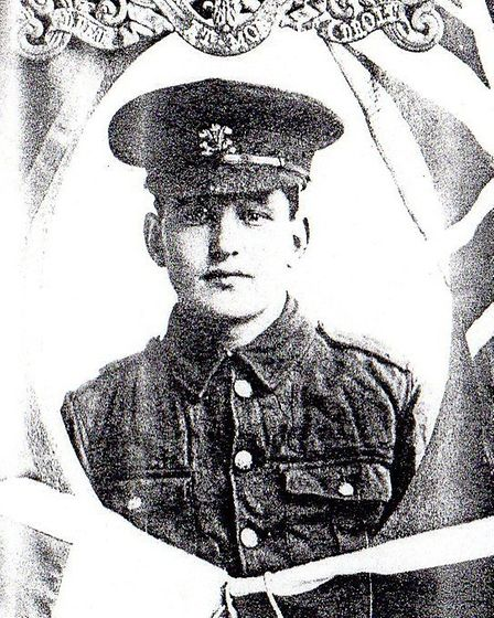 Arthur Horrell was killed in action on February 6, 1915.
